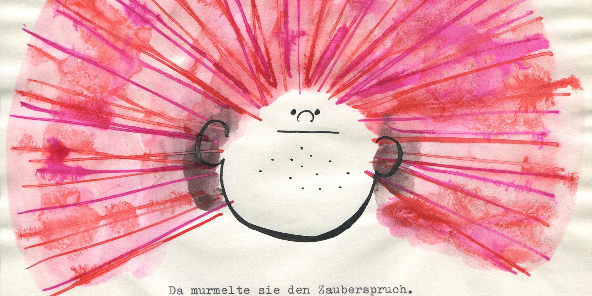 © Christine Nöstlinger, Die feuerrote Friederike, 1970 © Christine Nöstlingers Buchstabenfabrik GmbH